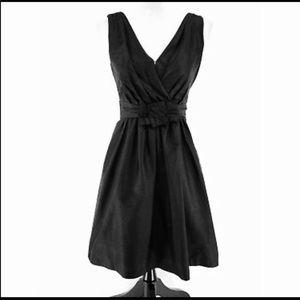 White House Black Market Black Cocktail Dress Sz 4